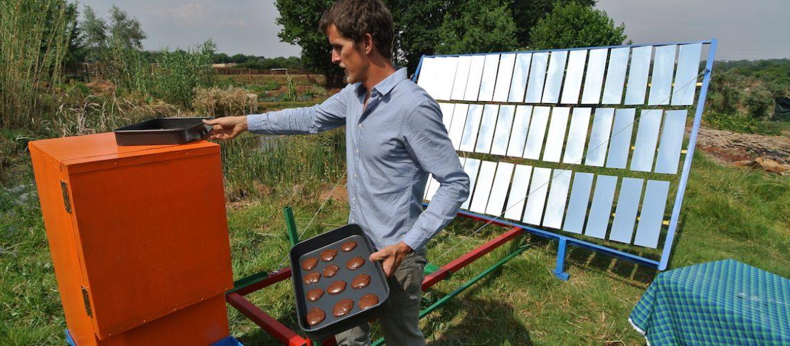 Solarfire oven